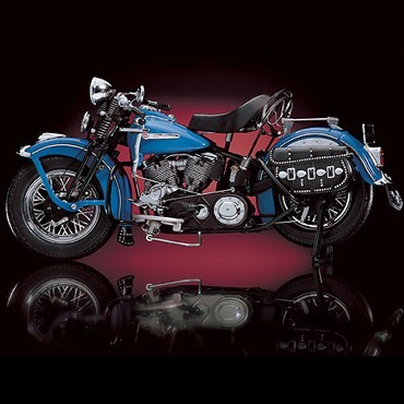 Harley-Davidson FL The First Panhead - 1948