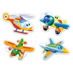 Детский пазл Смешные самолеты