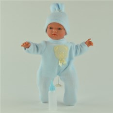 Игровая кукла ASI Гугу в голубом комбинезоне (36 см)