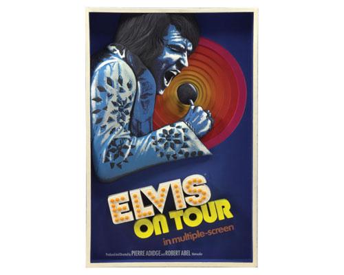 Элвис Пресли — Тур Элвиса, трёхмерный постер