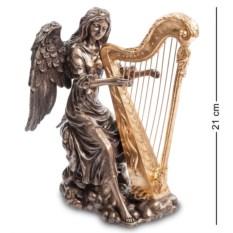 Статуэтка Ангел, играющий на арфе
