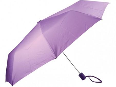 Складной автоматический зонт «Ева» цвета фуксия