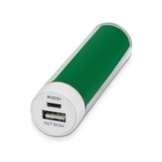 Зеленое портативное зарядное устройство Тианж 2200 mAh