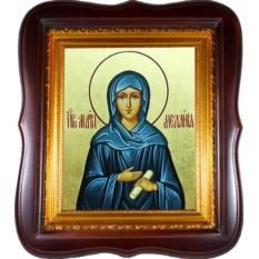 Мелания Римляныня Вифлеемская Преподобная. Икона на холсте