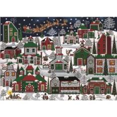 Пазл Ravensburger Рождественский город, 1000 элементов