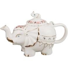 Керамический заварочный чайник Слоник, объем 600 мл