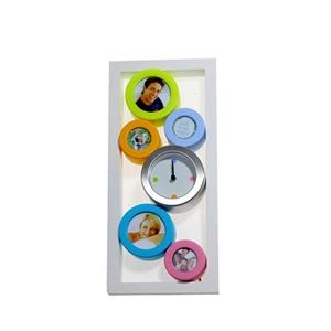 Рамка для 5-ти фото с часами «Часы»