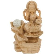 Настольный декоративный фонтан с подсветкой Богиня