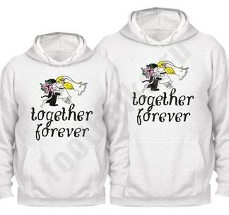 Свадебные толстовки Together forever