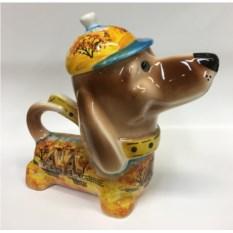 Чайник в форме собаки Золотая осень