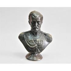 Бронзовый бюст Николая II