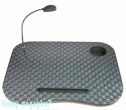 Столик для ноутбука с подсветкой «Шахматы»