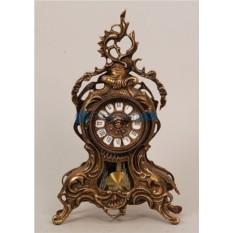 Каминные часы из бронзы Прутто