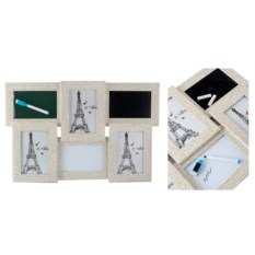 Фоторамка-коллаж для 3 фото с досками для записи