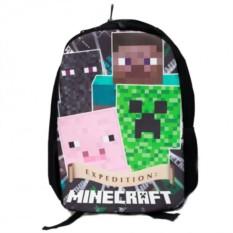 Рюкзак с основными персонажами Minecraft