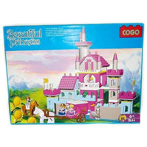 Конструктор Cogo Замок, 569 деталей