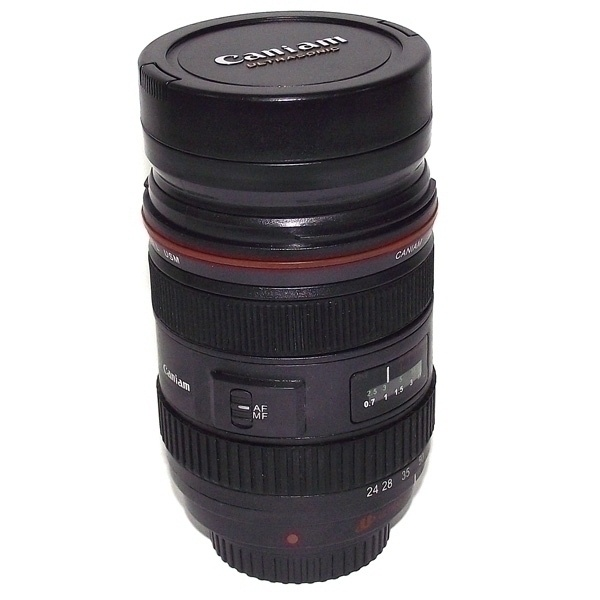 Термостакан объектив фотоаппарата