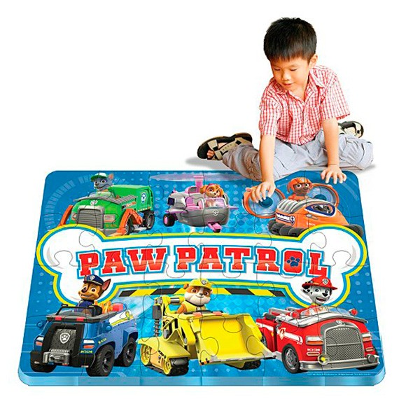 Детский коврик-пазл Paw Patrol Щенячий патруль Spin Master