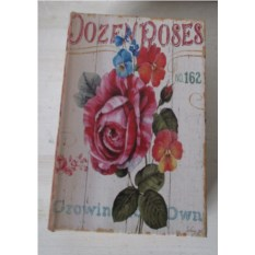 Шкатулка-фолиант Розы