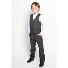 Темно-серый жилет для мальчика Nota Bene