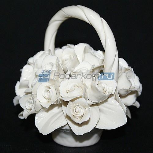 Цветы из фарфора Сияние нежности