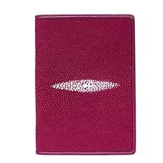 Обложка для паспорта из кожи морского ската