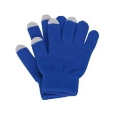 Синие перчатки для сенсорного экрана