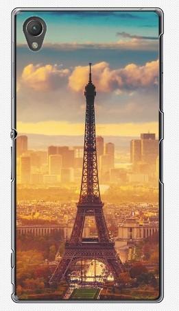 Чехол для Sony Xperia Z1 (пластик), Эйфелева башня