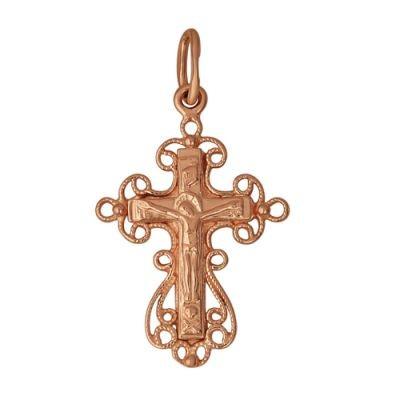Кулон-крест