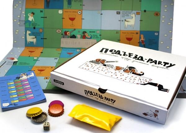 Настольная игра Подъезд-party