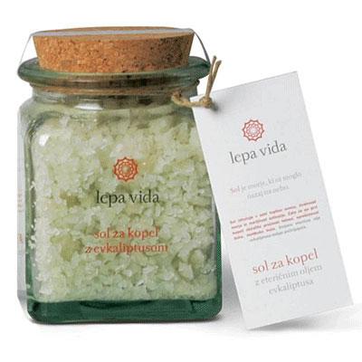 Соль для ванны с эфирными маслами
