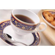 Чайный фарфоровый сервиз Кобальт на 15 предметов