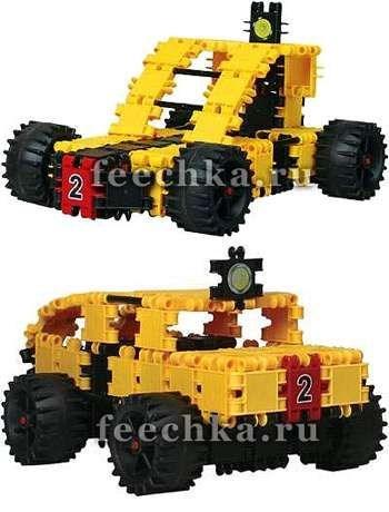 Конструктор Джип-Багги (4х4) 103 детали, CLICS