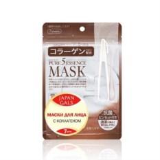 Маска с коллагеном Pure 5 Essential от Japan Gals (7 шт.)