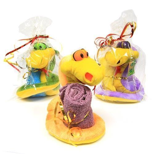 Мягкая игрушка «Змея» с полотенцем