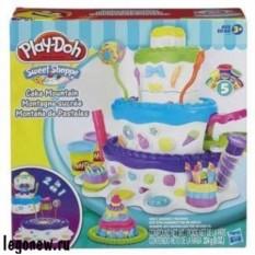 Набор для лепки Праздничный торт (Play Doh)
