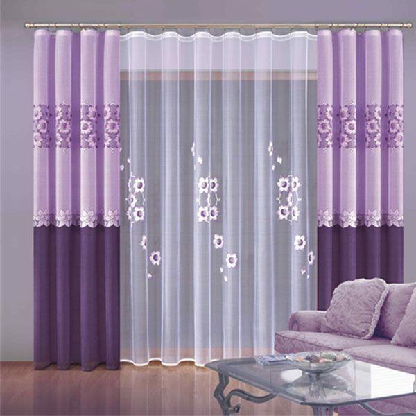 Комплект штор Зоя (Цвет : сиреневый)