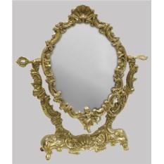 Настольное зеркало на подставе Ракушка