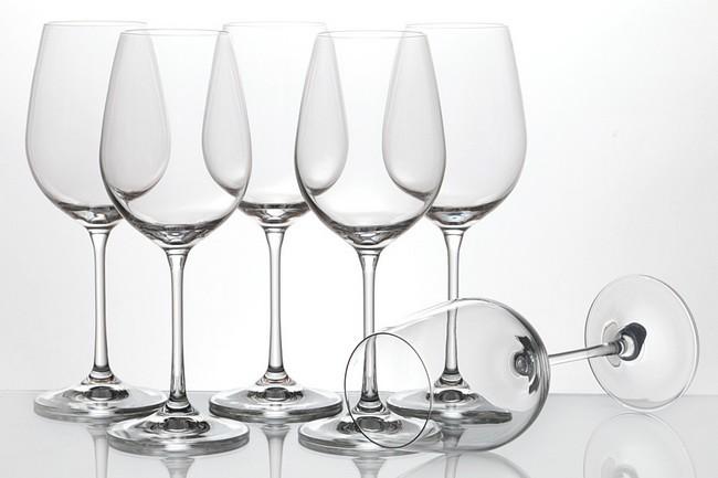 Набор 6 бокалов для вина 400 мл Crystalex Виола