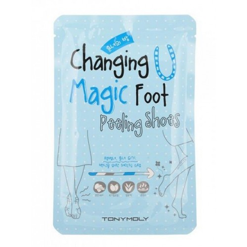 Пилинг для ног Changing U Magic Foot Peeling Shoes