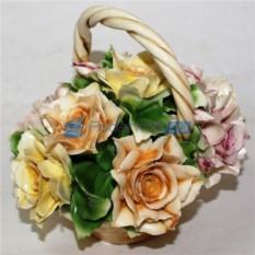 Цветы из фарфора Лето