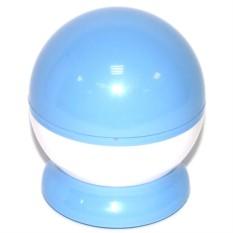 Вращающийся ночник-проектор, голубой