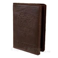Кожаная обложка для паспорта «Классическая»