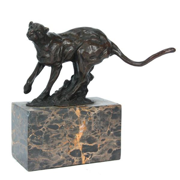 Бронзовая статуэтка Пантера