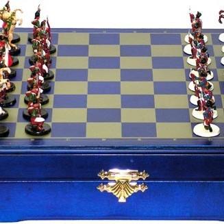 Шахматы Бородинское сражение