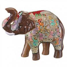 Фигурка Коричневый индийский слоник Gemini Enterprises