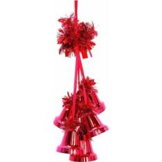 Новогоднее украшение Гроздь колоколов
