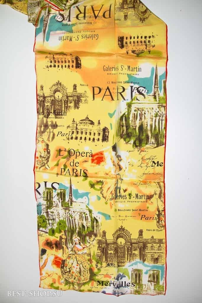 Шелковый шарф Opera de Paris