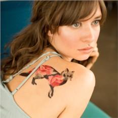 Татуировка переводная Sasha Unisex Rose fox
