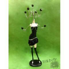 Подставка для украшений Маленькое черное платье
